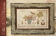 """""""In Season"""" Cross Stitch Pattern by COUNTRY STITCHES-WITH THY NEEDLE Sampler"""