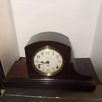 Vintage Early 1900'S Seth Thomas wind Up Mantle Clock - No keys