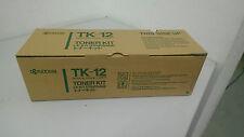 Kyocera TK-12 Original Toner, schwarz FS-1550/1600/3400/3600/6500/6550 neu  OVP