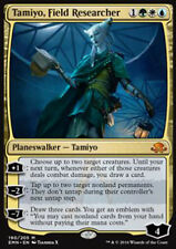 MTG TAMIYO, FIELD RESEARCHER FOIL EXC TAMIYO, RICERCATRICE SUL CAMPO