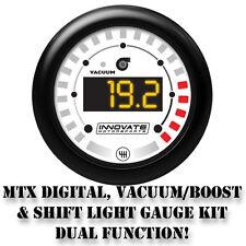 MTX Digital, Vacuum/Boost & Shift Light Gauge Kit, Dual Function!