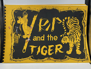 Yer And The Tiger Hmong Folk Tale Soft Cover Vintage Spiral Book