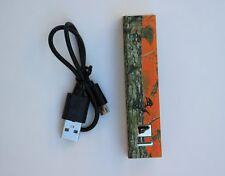 (NEW) Longleaf Orange camo power bank, charge up to 2 devices, Orange Camo