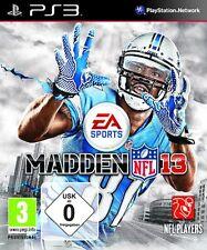 Madden NFL 13 EA Sports Football 2013 (ps3 PlayStation 3 juego) nuevo & OVP