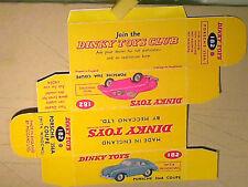 Replica box porsche 356a dinky toys 1959