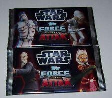 2 Booster Star Wars - Clone Wars - Force Attax Sammelkarten  Serie 3 (4)