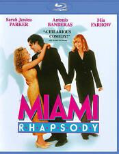 BRAND NEW Miami Rhapsody BLU-RAY DISC Antonio/Mia/Sarah Jessica FREE US SHIPPING