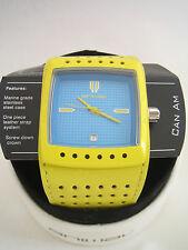 Reloj de animales para hombre puede am Amarillo Azul wwsv 16A 59D Nuevo Y En Caja Original