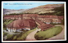 Yellowstone National Park WY~1920's CANYON HOTEL
