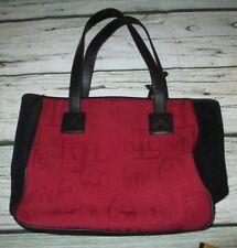 48786d33ca Ralph Lauren Women s Purse Black Suede Red Shoulder Bag Ladies Purse