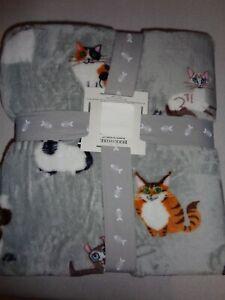 """New Berkshire BLANKET plush - TWIN 60"""" x 90"""" Lili Chin Cat Creations"""