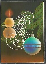 UdSSR 1988 New Year candlestick Christmas tree congratulation MC MK USSR New!