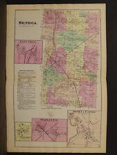 New York, Ontario County Map, 1874, Seneca Township, Double Page, Y3#73