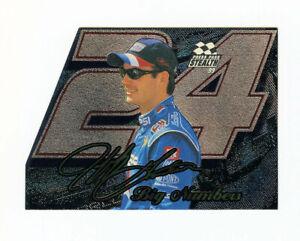 Jeff Gordon 1999 99 Press Pass Stealth Pepsi Big Numbers Insert Die Cut Parallel