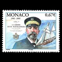 "Monaco 2002 - Book ""Sea Man`s Service"" by Albert I Writer Art - Sc 2242 MNH"