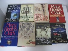 MARY HIGGINS CLARK BOOK COLLECTION LOT OF 38 BOOKS 2 SIGNED W/ INSCRIPTION