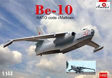 PLASTIC MODEL AIRPLANE  BERIEV BE-10 AMPHIBIOUS BOMBER  1/144 AMODEL 1452