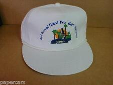 Camel Grand Prix Formula Racing New Retro Snapback Vintage Hat Golf tournament