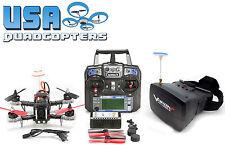 Falcon210 FPV Racing Drone RTF w/ Goggles, Camera, Rx, 6 Channel Controller, OSD
