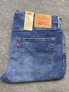 NEW Levi's 512 Jeans Mens 36 Denim Slim Tapered leg Regular Fit 36x34 36 x 34