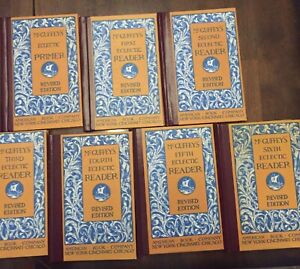 McGuffey's Eclectic Readers Primer-Sixth Revised Edition 7 Volume Set vintage