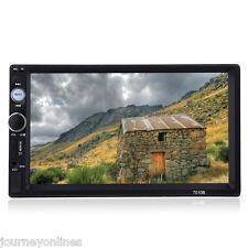 "7010B 7"" Bluetooth2.0 Car Audio Stereo Touch Screen Mp5 Player Sd Usb Fm Radio"