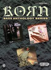 Korn -- Bass Anthology: Authentic Bass TAB (Bass Anthology Series), Korn