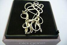 Ola Gorie Argent Urnes Broche Écossais Emballé 1988