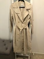 Country Road Classic Cream cotton Trench Size S