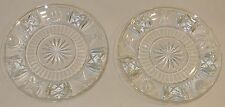 Waterford Millennium Crystal 5 Toasts Luncheon, Salad Accent Universal Plates 8""