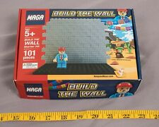 MAGA Build the Wall Starter Kit 101 Piece set w/ Donald Trump Mini-Figure tthc