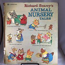 Richard Scarry's Animal Nursery Tales - Big Golden Book 1975 (Acceptable)