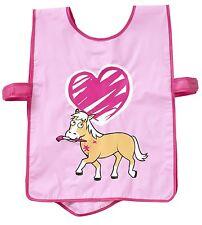 Bugzz Kids Pink Pony Paint Brush Tabard Childrens / Childs Girls Painting Apron