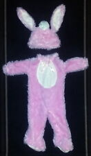 Pink Baby Bunny 2 piece Halloween Costume Infant Size 12-18 months