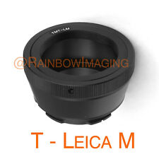 T2 Telescope Lens to Leica M Mount Camera Adapter M6 M8 M7 M9 Ricoh GXR A12