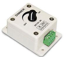 DC 12V 8A LED Light Protect Strip Dimmer Adjustable Brightness  HUSS Controller