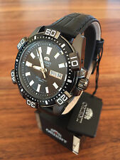 Orient XL 43 mm Black FEM7R004B9 Taucheruhr Herren Automatic Watch Automatik Uhr