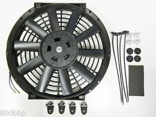 """11 """" / 28cm Universal radiador eléctrico ventilador de enfriamiento con Kit de montaje (delgado)"""