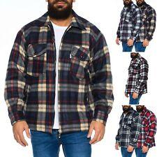 Herren Thermohemd Jacke Hemd Holzfällerhemd Arbeitshemd warm gefüttert ID472