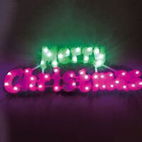 Xmas Decoration Merry Christmas Lights 40 led In/Outdoor