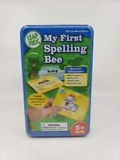 Leap Frog My First Spelling Bee in Collectible Storage Tin Ages 5+ Free Ship (N)
