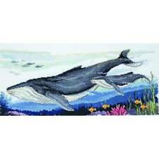 Country Threads Cross Stitch Counted X Stitch Pattern Graph HUMPBACK WHALES N...