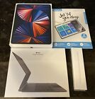 NEW Apple iPad Pro BUNDLE 5th Gen 128GB 12.9 Space Gray Magic Keyboard Pencil