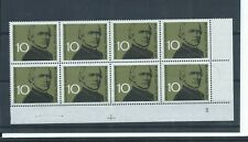 West Germany stamps. 1961 Baron W E von Kettler block of 8 MNH Folded. (G124)