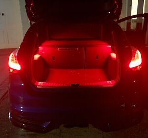 FORD FOCUS/FIESTA  DOUBLE BOOT 2 X LIGHT UPGRADE  ( Extra Lighting)