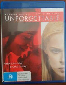Unforgettable Blu-ray