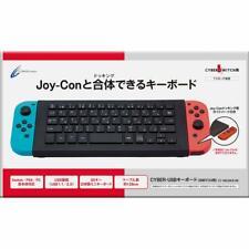 Cyber?? Gadget stick analógico Cubierta Negra Neko-chan para SWITCH Joy-Con