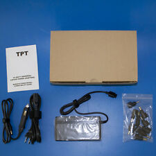 NEW TPT CB201 90W Universal AC/DC Laptop Power Adapter Multi Plug Head& Car