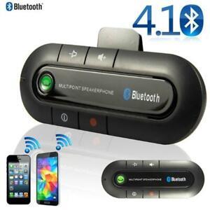 Wireless Bluetooth Handsfree Auto Kit Freisprechanlage Lautsprecher Telefon Visor Clip