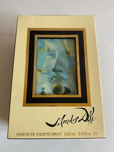 DALI BY SALVADOR DALI PARIS PARFUM DE TOILETTE SPRAY 100ml VINTAGE 1981